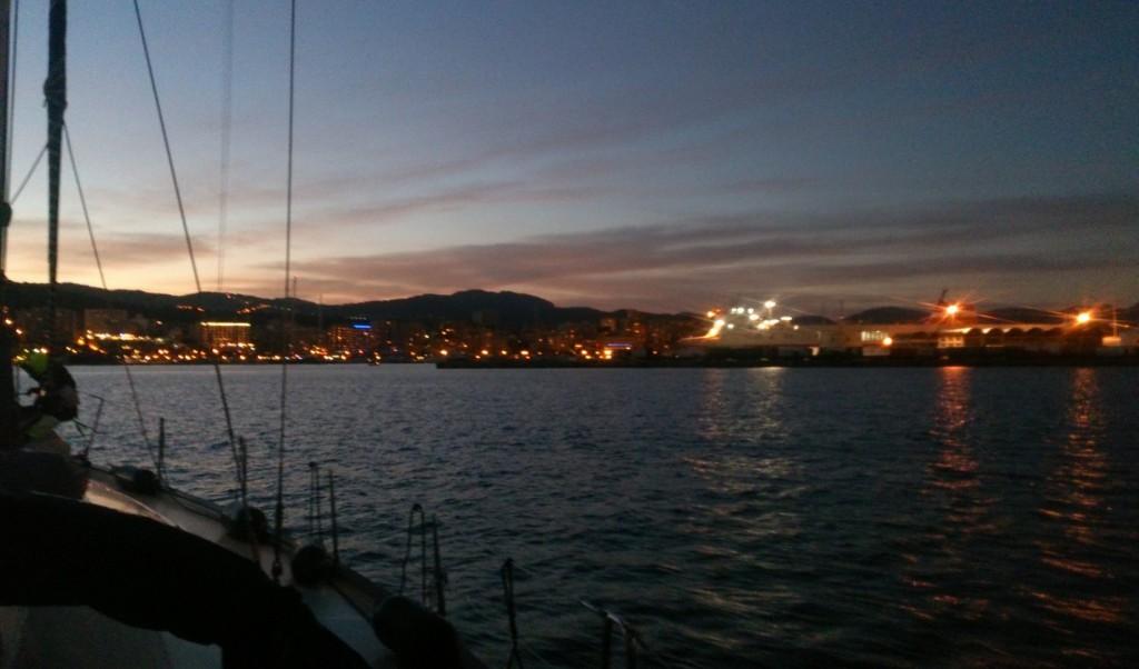Einfahrt Hafen Palma de Mallorca